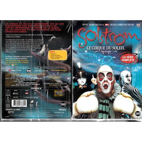 Cirque du Soleil : Solstrom - Coffret digipack 5 DVD