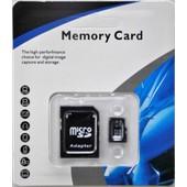 Carte Micro Sd 32 Go Classe 10 Avec Adaptateur Sd