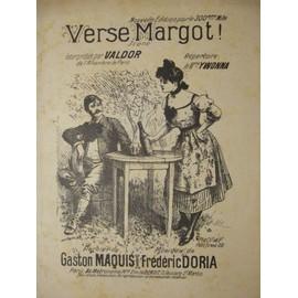 """"""" verse margot"""" scène interprétée par valdor de l'alhambra de paris. répertoire de mme ywonna."""