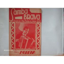 TONY  MURENA  //  SAMBA  BRAVA   /  partition