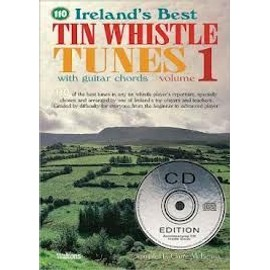 110 Ireland's Best Tin Whistle Tunes Vol. 1 + CD