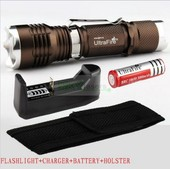 Lampe Led Torche Ultrafire 1000lm Cree Xm-L T6 Zoomable + Batterie Rechargable + Charger+Etui