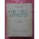 Oeuvres Compl�tes . Tome 2 . Climats - Le Cercle De Famille - L'instinct Du Bonheur . de Andr� Maurois
