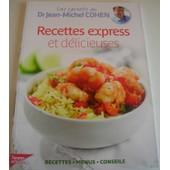 Les Carnets Du Dr Cohen - Recette Express Et D�licieuses de jean-michel cohen