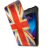 Etui Portefeuille Blackberry Z10 Drapeau Uk