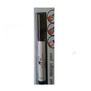 """Stylo French Manucure Decoration Ongles """"Nail Design Pen"""" Noir"""