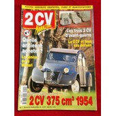 2 Cv Magazine N�1 La 2cv 375 Cm3 1954