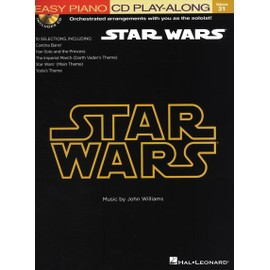 Easy Piano Play-Along Volume 31 : Star Wars + CD