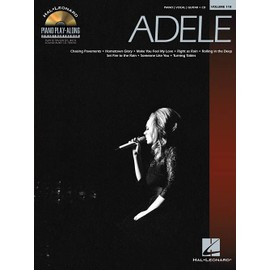 Piano Play-Along Volume 118 : Adele + CD