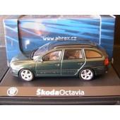 Skoda Octavia Combi Tdi 2004 Green High Abrex 143ab002hl 1/43 Break Sw