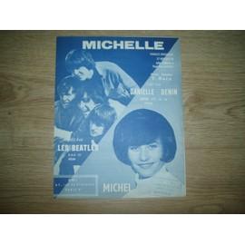 PARTITION MICHELLE DANIELLE DENIN  /  BEATLES.
