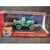 Les Voitures De Spirou Et Fantasio - Jeep Mb