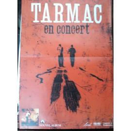 Affiche - Tarmac en concert