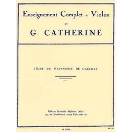 CATHERINE : Étude du mécanisme de l'archet