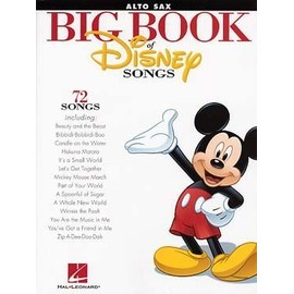 The Big Book of Disney Songs - Saxophone Alto