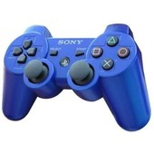 Sony Dualshock 3 Sixaxis Bleue - Manette Sans Fil Officielle Pour Playstation 3