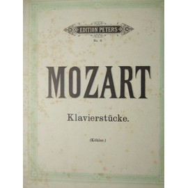 """klavierstücke. w. a. mozart. - fantasia 1. - fantasia 2. - fantasia 3. - rondo 1. - rondo 2. - rondo 3. - ouverture. - adagio. - menuetto. - gigue."