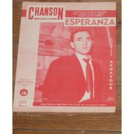 partition charles aznavour / esperanza