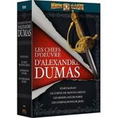 Les Chefs D'oeuvre D'alexandre Dumas - D'artagnan + Le Comte De Monte-Cristo + Les Mohicans De Paris + Les Compagnons De Jehu - Pack de Denys De La Patelli�re