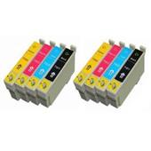 Tonercenter24 - 2 X Compatible Cartouche Encre Set Pour Epson Expression Home Xp30/ Xp102/ Xp202/ Xp205/ Xp302/ Xp305/ Xp402/ Xp405