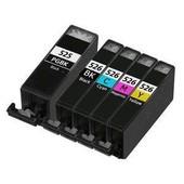 Tonercenter24 - Pgi-525/Cli-526 Compatible Cartouche D'encre Set Pour Canon Pixma Ip4850, Ip4800, Ip4950, Ix6550, Ix6250, Mg5150, Mg5200, Mg5250, Mg5350, Mg6150, Mg6220, Mg6250, Mg8150, Mg8220, Mg8250, Mx882, Mx885