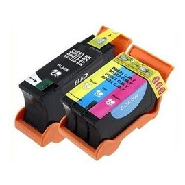 Toner Center 24 - Dell Y498d / Y499d - Compatible Cartouches D'encre Set Pour Dell All-In-One P513w/ P713w , V313/ V313w/ V515w/ V715w (S?Ries 21)