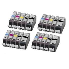 Tonercenter24 - Pgi-520 / Cli-521 Compatible Cartouche D'encre 4 X Set Pour Canon Pixma Mp540, Mp540x, Mp550, Mp560, Mp620, Mp620b, Mp630, Mp640, Mp980, Mp990