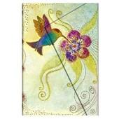 Reliure Design Paperblanks Creations Fantaisites Colibri Mini Papier Lign�- Format : 95x140 Mm - 176 Pages- Pblpb22343