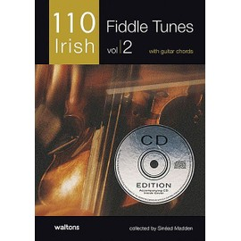 110 Best Irish Fiddle Tunes Vol. 2 + CD