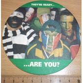 Sous-Bock Sous Verre Cartonn� Bi�re 2 Faces Imprim�es Heineken Rugby Worldcup 2003