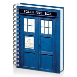 Doctor Who Cahier � Spirale A5 Tardis