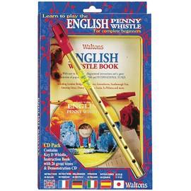 English Tin Whistle Pack + CD