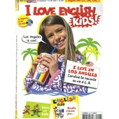 I Love English For Kids (8/11 Ans), N�126, January 2012. I Live In Los Angeles. Caroline Te Raconte Sa Vie A L.A. + Cd Audio de COLLECTIF