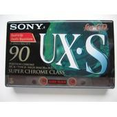 Cassette audio SONY UX.S 90'