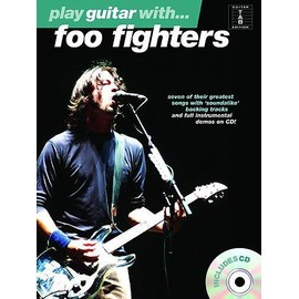 Play Guitar With... Foo Fighters + CD