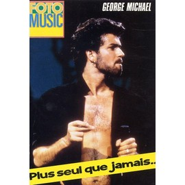 GEORGE MICHAEL Poster + article au dos. FOTO MUSIC 1986