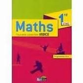 Maths Tle Stmg Nouvelle Collection Indice Programme 2013 de michel poncy