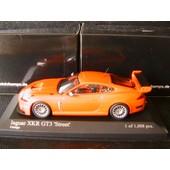 Jaguar Xkr Gt3 Street Orange 2008 Minichamps 400081394 1/43 Die Cast Model