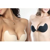 Soutien Gorge Adh�sif Sans Bretelle Bonnet A, B, C Ou D - Couleur Beige Ou Noir