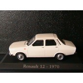 Renault 12 Tl 1970 White Rba Collectables 1/43 R12 Boitier Blister Weiss 12tl
