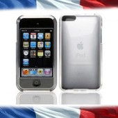 Coque Cristal Crystal Rigide Transparent Clips Pour Ipod Touch 2 Et 3