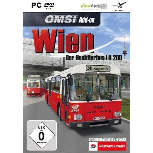 Omsi - Der Omnibussimulator : Wien - Der Hochflurbus Lu 200 [Import Allemand] [Jeu Pc]