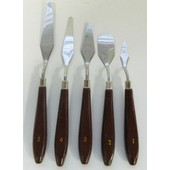 5 Couteaux Peinture Huile Spatule Couteau Peinture Acrylique C�ramique Poterie