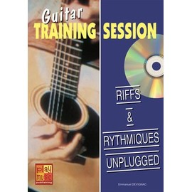 Guitar Training Session - Riffs & rythmiques unplugged + CD