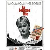 La Femme Flic - Yves Boisset - Miou Miou - Niels Arestrup - Affiche De Cin�ma Pli�e 60x40 Cm