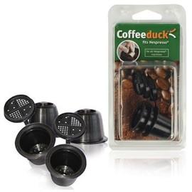 Capsules Pour Nespresso Rechargeables Ecologiques (Pack De 3)