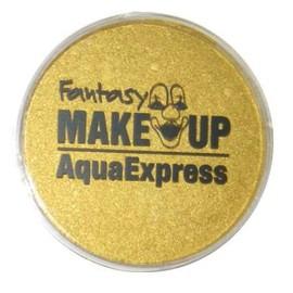 Peinture Corporel Maquillage Aqua Fard � L'eau Masque Visage - Or