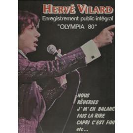 olympia 80 : capri c'est fini, vise le chanteur, quand la foule est partie, j'ai mal je t'aime, champagne, la chatelaine, génération de mauvaise réputation, les mains dans les poches, fais la rire, ..