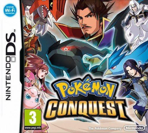 Pokemon Conquest [import anglais]