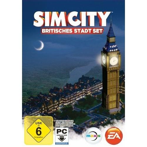 Simcity : Britisches Stadt-Set [Download-Code, Kein Datenträger Enthalten] [Import Allemand] [Jeu Pc] PC